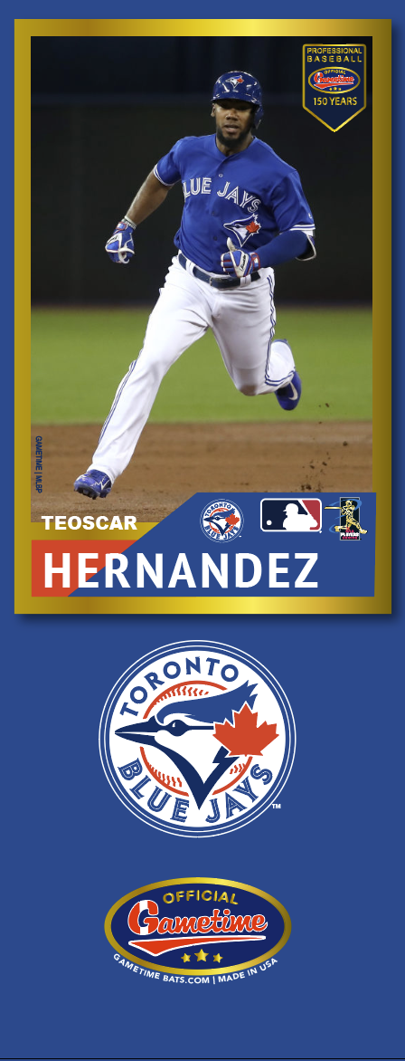 Teoscar Hernandez Photo Bat | MLB Collection