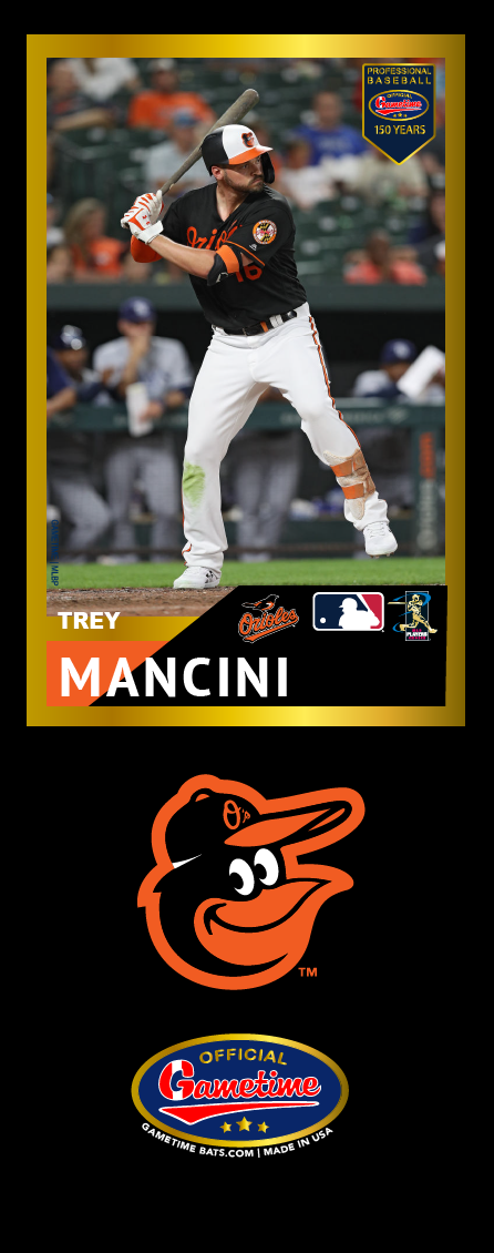 Trey Mancini Photo Bat | MLB Collection