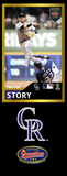 Trevor Story Photo Bat | MLB Collection