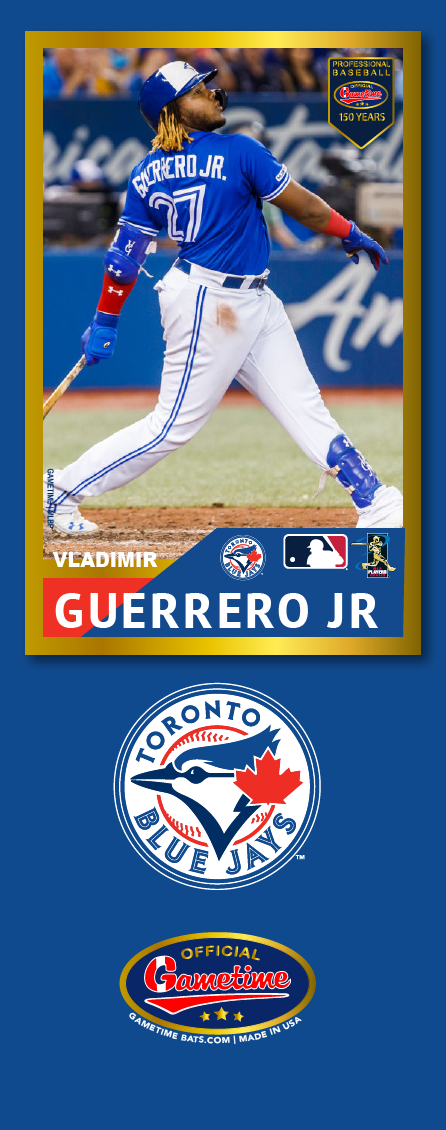Vladimir Guerrero Jr. Photo Bat | MLB Collection
