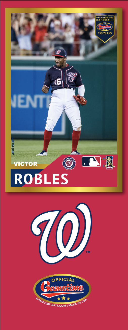 Victor Robles Photo Bat | MLB Collection