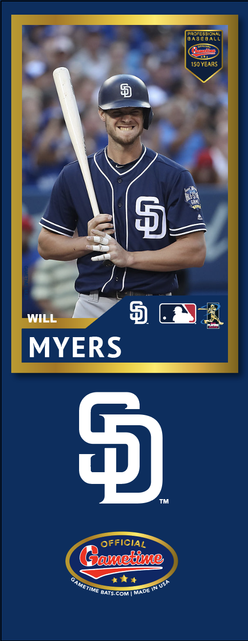 Will Myers Photo Bat | MLB Collection