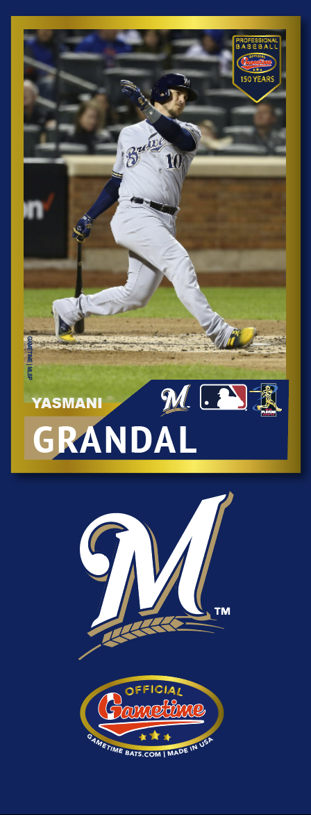 Yasmani Grandal Photo Bat | MLB Collection