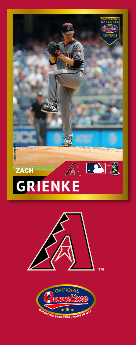 Zack Greinke Photo Bat | MLB Collection