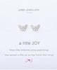 Silver Butterfly Earrings by Joma Jewellery A little Joy(Out of Stock)