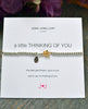 A Little Thinking of You Bracelet by Joma Jewellery(Out of Stock)
