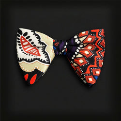 Butterfly Style Bow Tie-African Print