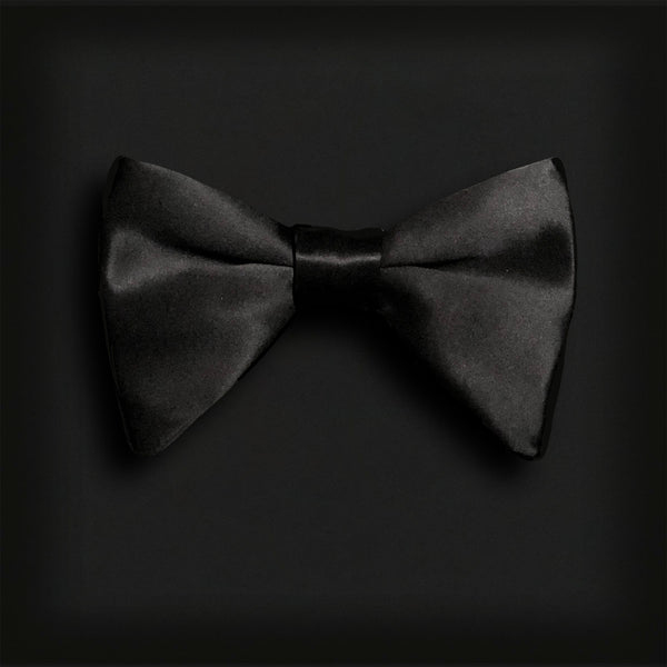 Butterfly Style Bow Tie-Black