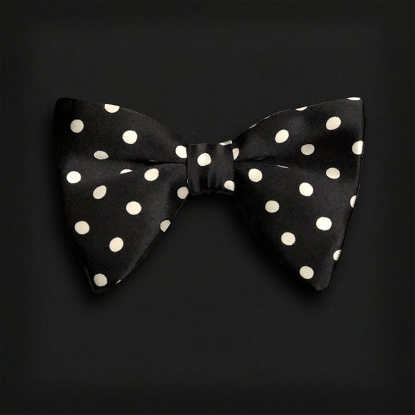 Butterfly Style Bow Tie-Polka Dot