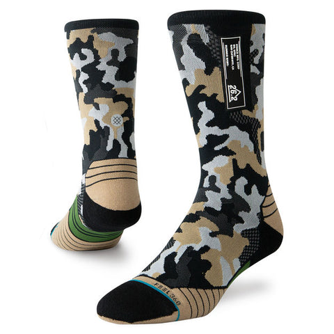 Stance Smoked Camo Run Crew Sock