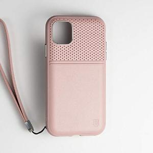 BodyGuardz Accent Duo Case (for iPhone 11 Pro Max) Impact-Absorbing Technology (Blush/Mauve) - Insta Wireless