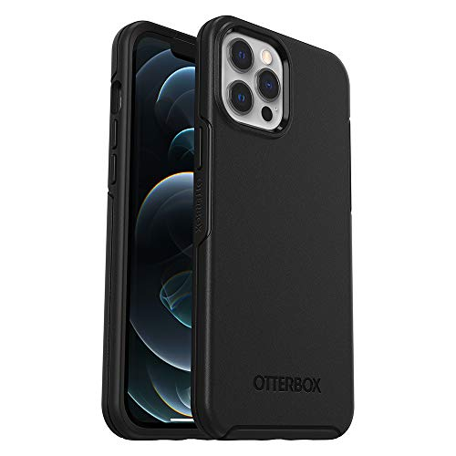 OtterBox Symmetry Series Case for iPhone 12 Pro Max - Black (77-65935) - Insta Wireless