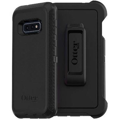 New OtterBox DEFENDER SERIES SCREENLESS EDITION Case for Samsung Galaxy S10e - BLACK - Insta Wireless