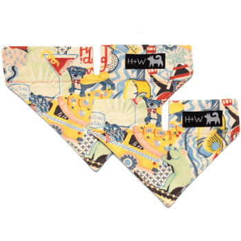 New York! New York!  Dog Bandana by Hiro + Wolf