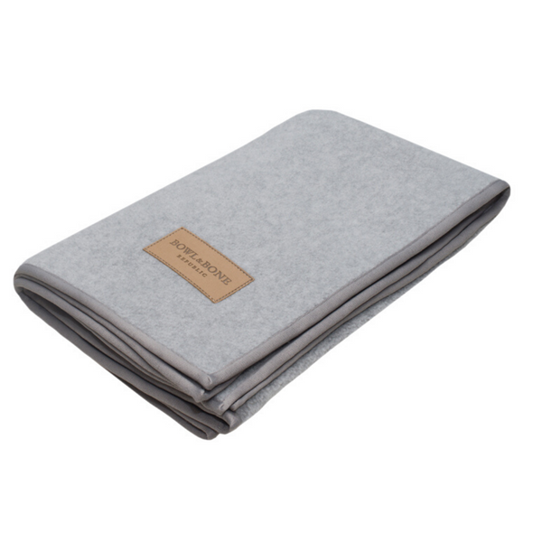 Bowl&Bone Dog Blanket Zen Grey