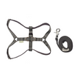 Bowl & Bone Republic Active Dog Harness With Lead Grey