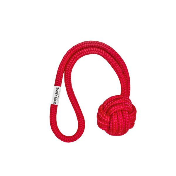 Bowl & Bone Republic Dog Toy Bullet Red