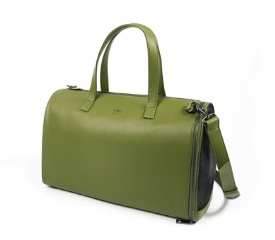 St Argo FRANK Vegan Dog Carrier Bag in Olive