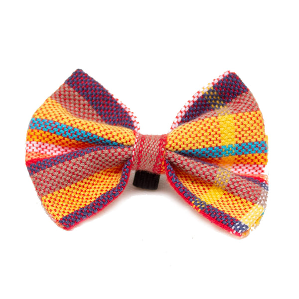 Hiro + Wolf Coastal Kikoy Cat Bow Tie