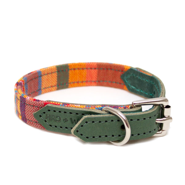 Hiro + Wolf Coastal Kikoy Dog Collar