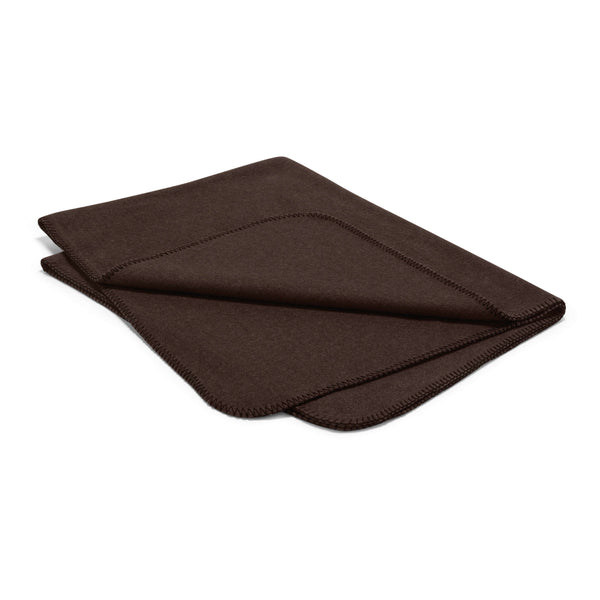 MiaCara Unica Fleece Blanket Mocha