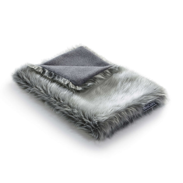 MiaCara Lana Cat Blanket Pebble
