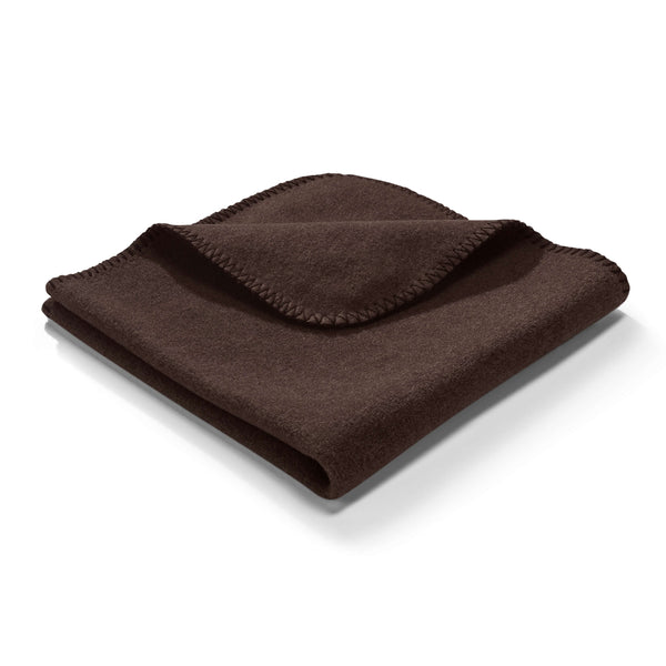 MiaCara Unica Fleece Blanket Mocca