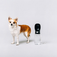 Thirsty Dog Drink Bottle Black - The Good Pet Home