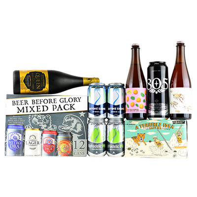 21st Amendment / Fieldwork A Terrible Idea, Ommegang Game of Thrones - Queen of the Seven Kingdoms, Firestone Walker Mix Pack 12-Pack, Firestone Walker 805, Hop Valley Alphadelic IPA, Hop Valley Divine Shine, The Good Beer Co. / Almanac Overzestous
