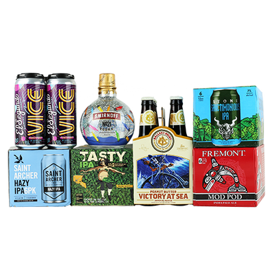 21st Amendment Tasty IPA, Fremont Mod Pod IPA, Stone Sanctimonious IPA and MORE