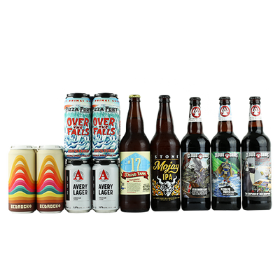 Clown Shoes Very Angry Beast Bourbon Barrel Stout, Clown Shoes The Exorcism of Rich Ackerman, Burgeon / Stone Mojay IPA, Kern River Think Tank #17 and more