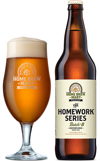 Ballast Point The Homework Series Batch #8 Hefeweizen