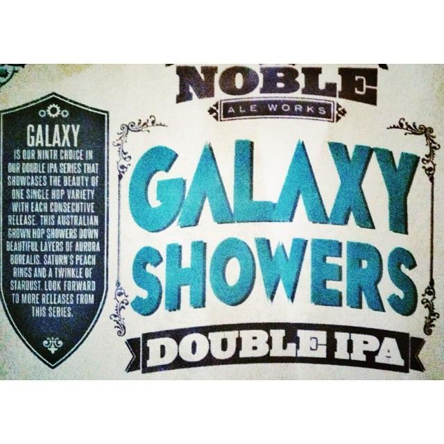 Noble Ale Works Galaxy Showers Double IPA