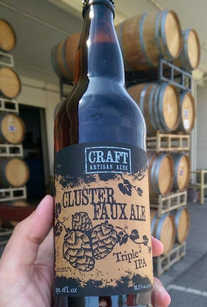 Craft Cluster Faux Triple IPA