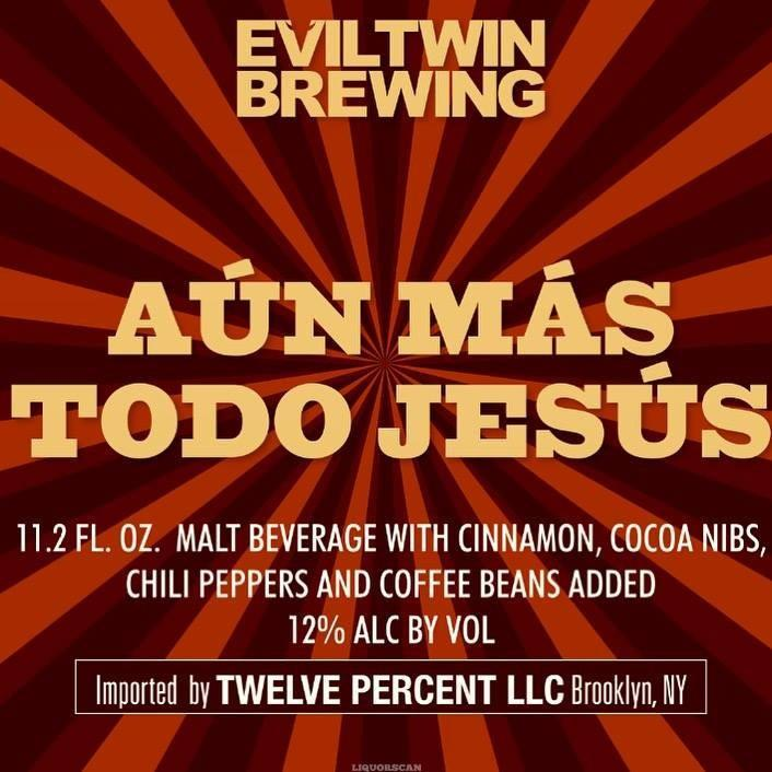 Evil Twin Aun Mas Todo Jesus Imperial Stout / Imperial Petit Four Break 2PK