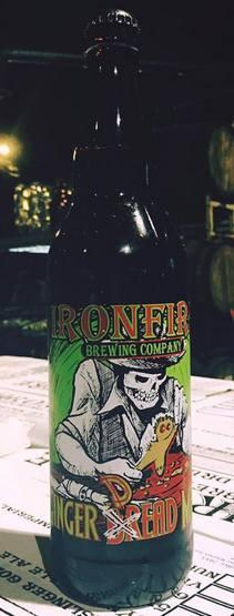 Ironfire Ginger Dead Man Holiday Ale