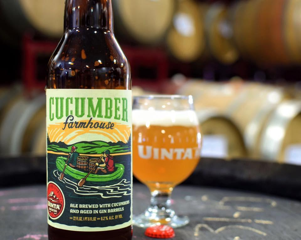 Uinta Cucumber Farmhouse Gin Barrel Aged