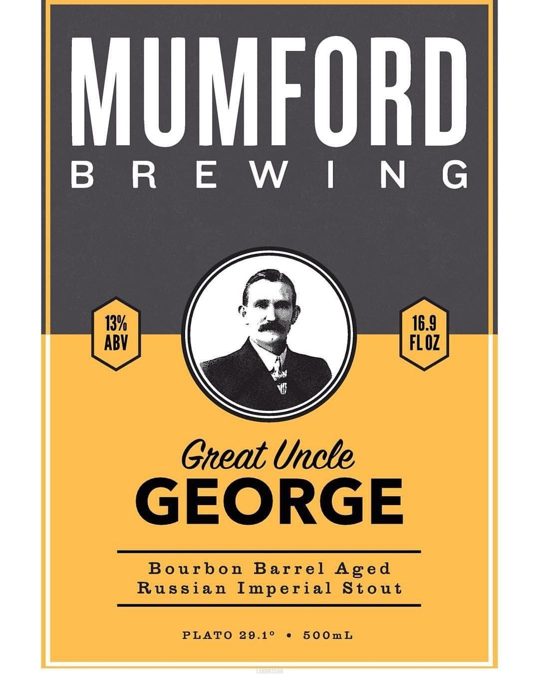 Mumford Great Uncle George Bourbon Barrel Aged Russian Imperial Stout