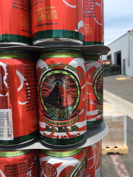Mother earth righteously hopped red ipa buy craft beer for Purchase craft beer online