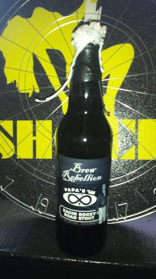 Brew Rebellion Racin Rocky Road Stout