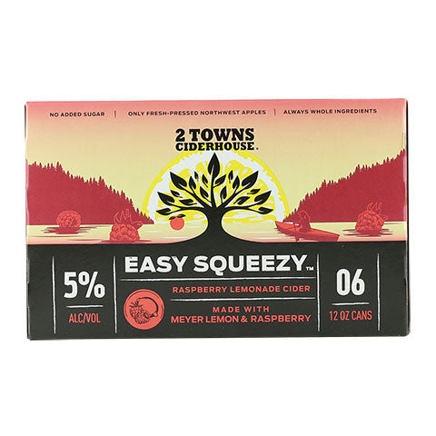 2 Towns Easy Squeezy Cider