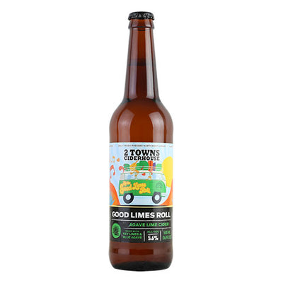 2 Towns Good Limes Roll Cider