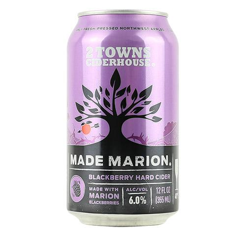 2 Towns Made Marion Cider