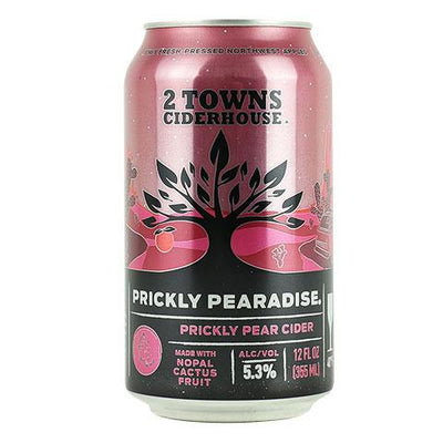 2 Towns Prickly Pearadise Cider