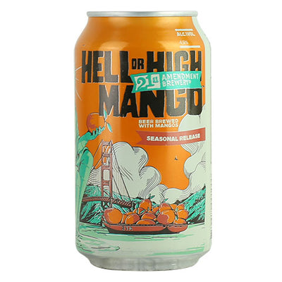 21st Amendment Hell Or High Mango Wheat