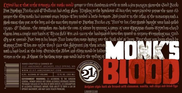 21st Amendment Monks Blood