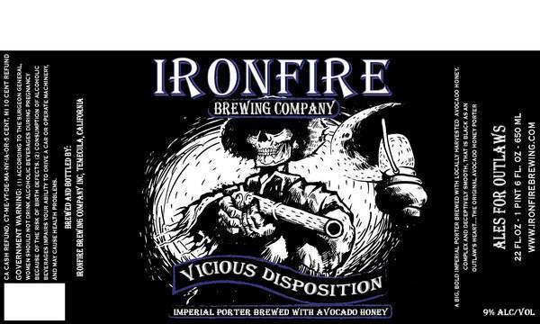 Ironfire Vicious Disposition Imperial Porter