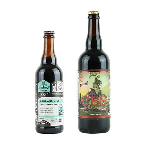 Bottle Logic Sight And Mind / Founders CBS Imperial Stout 2PK