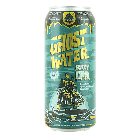 32 North Ghost Water Hazy IPA