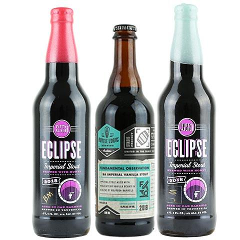 Bottle Logic Fundamental Observation / Eclipse Joseph Magnus & Belle Meade Barrel-Aged Imperial Stout 3 Pack
